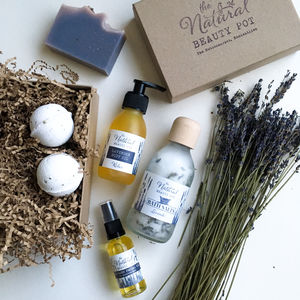 Lavender Lovers Pamper Gift Set - gifts for her