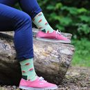 Unisex Watermelon Socks