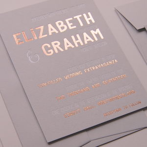 Elizabeth Wedding Invitation - invitations