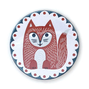 Mrs Fowpaws Pocket Mirror - compact mirrors