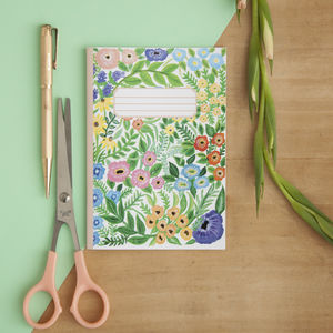 Wildflowers Print Pocket Notebook