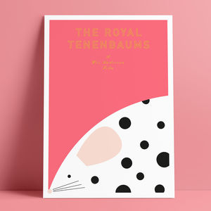 The Royal Tenenbaums Glicée Print - posters & prints