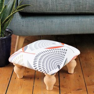 Dandelion Print Footrest - chairs & stools