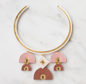 Monument Collar - statement jewellery