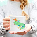 Tree Frog Bone China Mug
