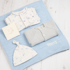 Little Planes Baby Boy Gift Box - clothing