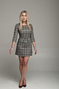 Molly Dress In Multi Print - dresses