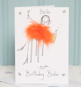 Handmade Personalised Age Card - birthday cards