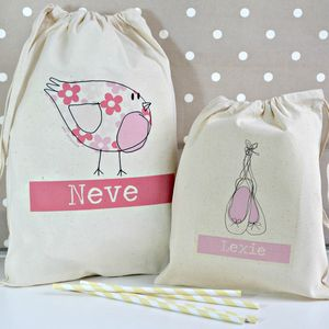 Personalised Party Bags Various Designs - children's birthday