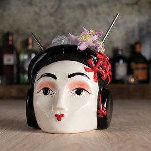 Geisha Ceramic Cocktail Sharer