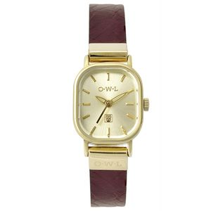 Stratford Leather Strap Watch