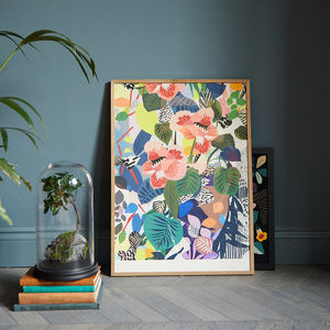 Hockney Vase Print - re-earthed