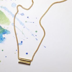 Twin Necklace - minimal jewellery