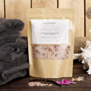 Natural Vanilla Rose Nourishing Bath Salt Blend