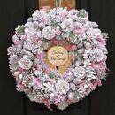 Personalised Heather Cottage Wreath
