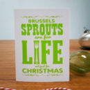 Sprouts Are For Life Christmas Card