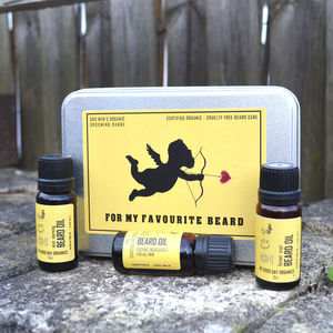 'For My Favourite Beard' All Organic Grooming Gift