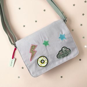 Cloud Pop Patch Bag