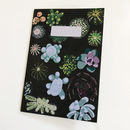 Midnight Cactus Notebook