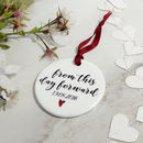 Personalised From This Day Forward Wedding Keepsake