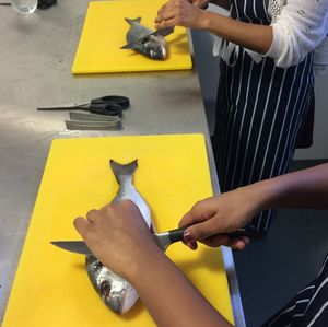 Fantastic Fish And Seafood Cookery Class - aspiring chef