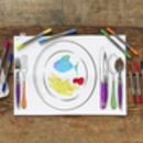 Colour In And Draw Mealtime Fun Placemat