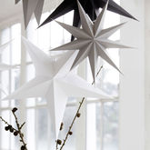 Large Paper Star Decoration - parties