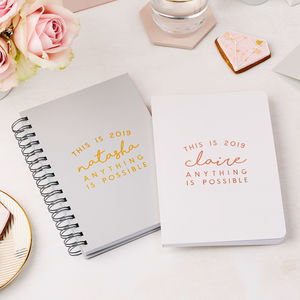Personalised 'This Is 2019' Weekly Diary - gifts for her