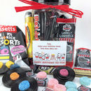 Personalised Retro Liquorice Sweets Gift Jar