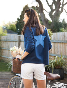 Cashmere Oversized Star Jumper