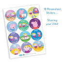 Personalised Peppa Pig: Stickers
