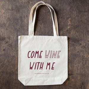 Come Wine With Me Tote Bag Sale