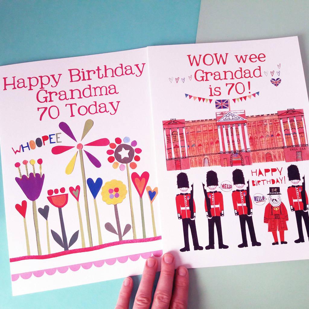 Personalised Big Birthday Card
