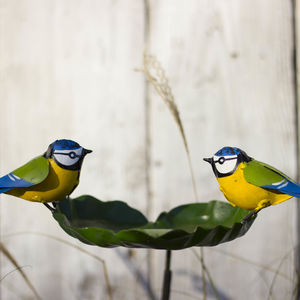 Handmade Recycled Metal Garden Blue Tit Bird Feeder - view all new