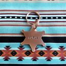 Sheriff Badge Hand Stamped Dog ID Tag