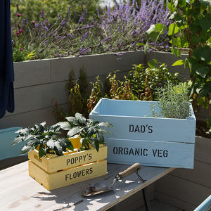 Daddy And Me Personalised Crates - gifts for him