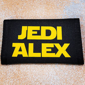 Personalised Jedi Wallet - bags, purses & wallets