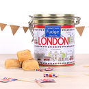 London Icons Clotted Cream Fudge