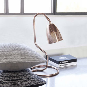 Industrial Style Copper Table Lamp - table lamps
