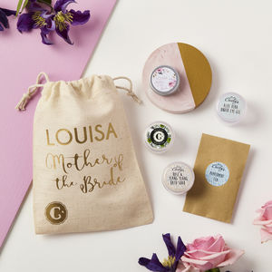 Personalised Mother Of The Bride Skincare Collection