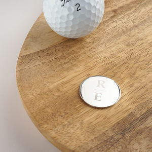 Personalised Golf Ball Marker - new in home