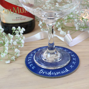 Wedding Favours And Place Names Coasters