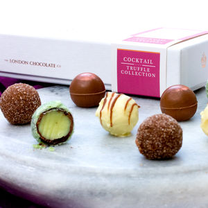 Cocktail Collection Chocolate Truffle Gift Box - chocolates & confectionery