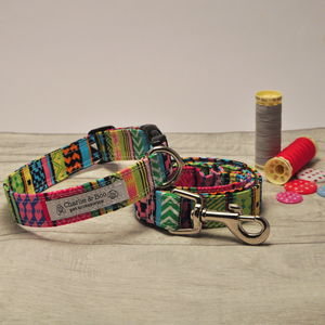 Dog Collar And Lead Set For Girl Or Boy Dogs - dogs