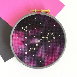 Starsign Cross Stitch Kit