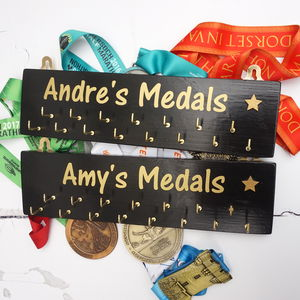 Personalised Medal Hanger - home accessories