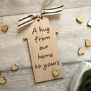 A Hug From Our Home Keepsake Decoration
