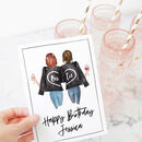 Bestie Customisable Birthday Card