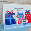 Personalise the card for any birthday - for a special son, grandson, dad, grandpa, uncle etc