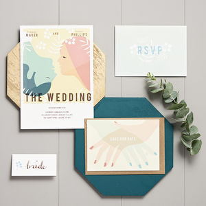 Vintage Movie Wedding Stationery Collection - wedding stationery
